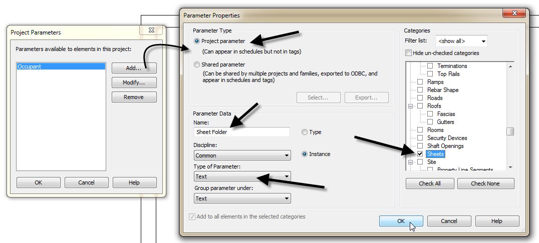Create a custom Parameter