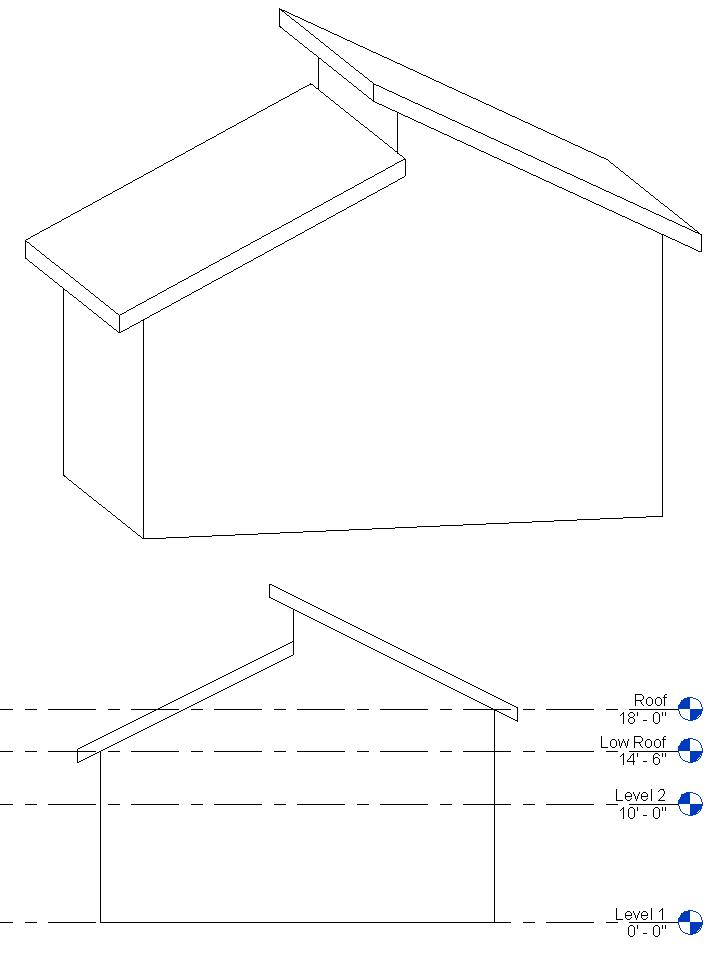 Split Roof In Revit Paul F Aubin